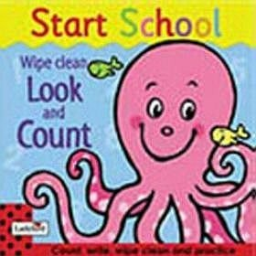 Start School. Wipe Clean. Look And Count