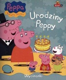 Świnka Peppa Wycinanki Urodziny Peppy -
