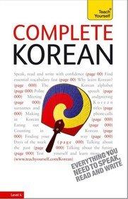 Teach Yourself Complete Korean