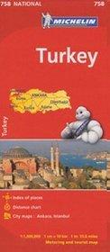 Turcja. Mapa w skali 1:1 000 000