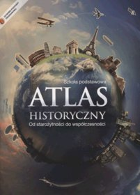 [UŻYWANY]  Historia. Atlas historyczny. Od starożytności do współczesności. Klasa 4-6. Atlas - szkoła podstawowa