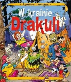 Album z naklejkami W krainie Drakuli