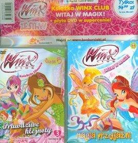 Winx Club. Zestaw. Część 1. Witaj w Magix. Magia przyjaźni/Kolekcja filmowa. Prawdziwe klejnoty DVD