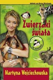Zwierzaki Świata - książka audio na CD (format mp3)