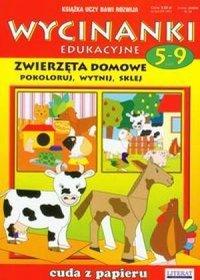 Zwierzęta domowe Wycinanki edukacyjne