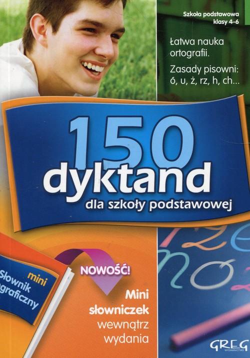 150 dyktand dla szkoły podstawowej z mini słowniczkiem