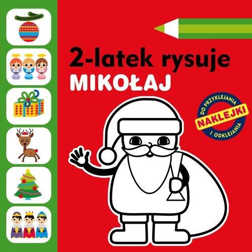 2-latek rysuje Mikołaj