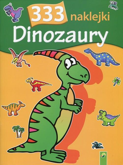 333 naklejki - Dinozaury