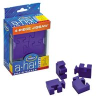 Aha Brainteaser 1 4-Piece Jigsaw