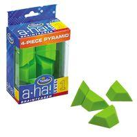 Aha Brainteaser 1 4-Piece Pyramid