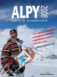 Atlas turystyczny Alpy 2008 Narty Snowboard