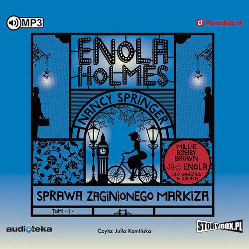 AUDIOBOOK Enola Holmes. Sprawa zaginionego markiza - Springer Nancy