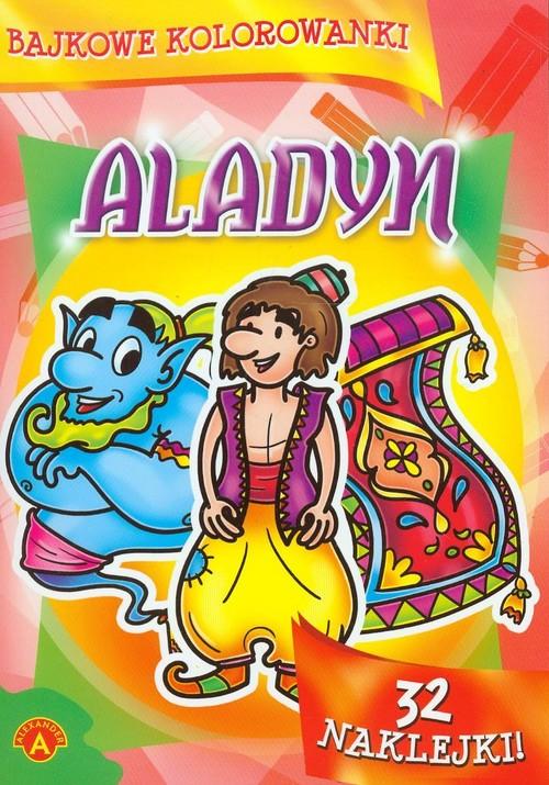 Bajkowe kolorowanki Aladyn