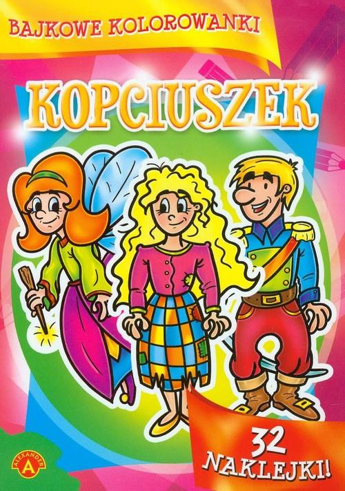 Bajkowe kolorowanki Kopciuszek