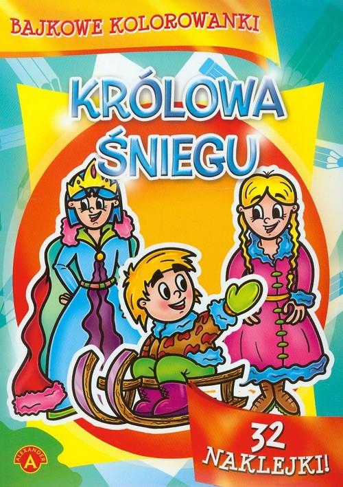 Bajkowe kolorowanki Królowa Śniegu