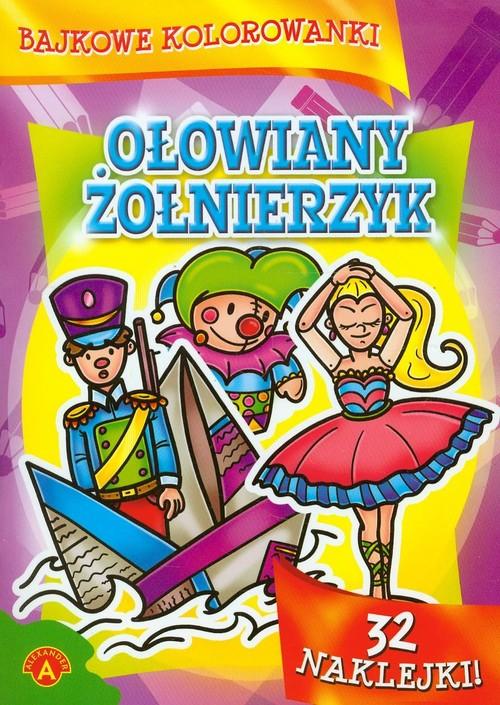 Bajkowe kolorowanki Ołowiany żołnierzyk