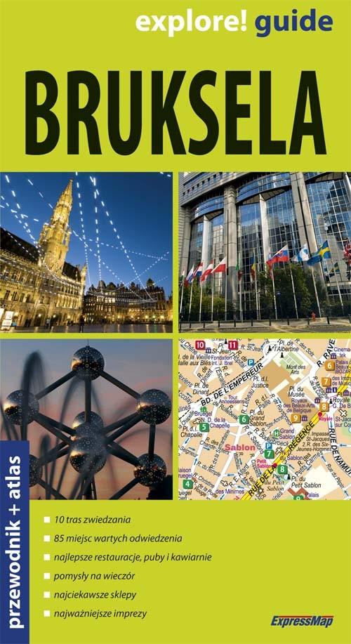 Bruksela przewodnik + altas