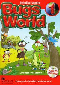 Język angielski. Bugs World 1. Klasa 1-3. Podręcznik (+2CD) - szkoła podstawowa