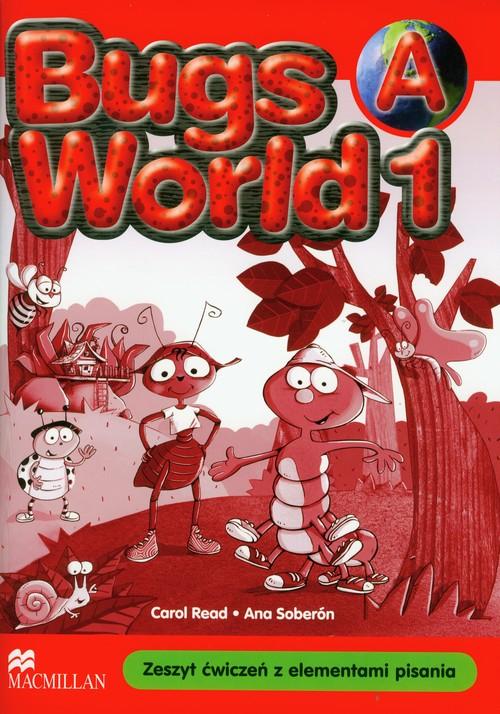 Język angielski. Bugs World 1A. Klasa 1-3. Zeszyt ćwiczeń - szkoła podstawowa