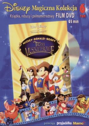 Disney Magiczna Kolekcja t. 6. Trzej muszkieterowie