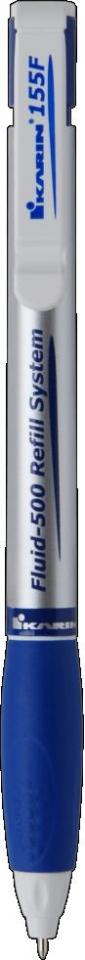 Długopis 155F niebieski. Display x 15 sztuk