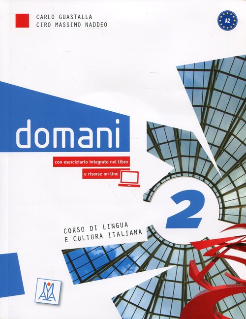 Domani 2 Podręcznik +  DVD