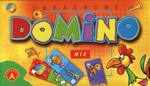 Domino obrazkowe mix - praca zbiorowa