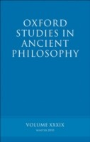 EBOOK Oxford Studies in Ancient Philosophy volume 39