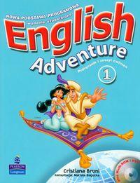 English Adventure 1 Podręcznik z ćwiczeniami z płytą DVD