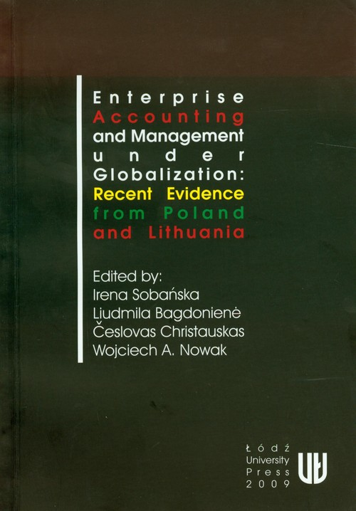 Enterprise accounting and management under globalization: recent evidence from Poland and Lithuania -
