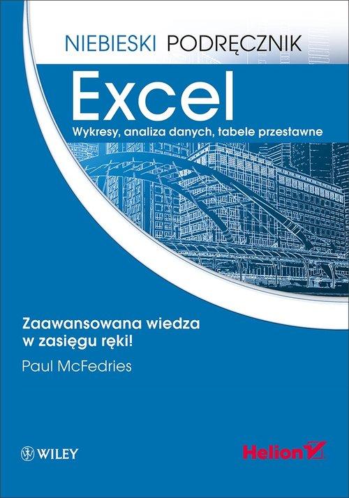 Excel Wykresy analiza danych tabele przestawne Niebieski podręcznik
