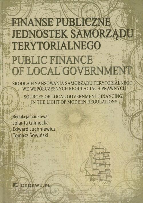 Finanse publiczne jednostek samorządu terytorialnego
