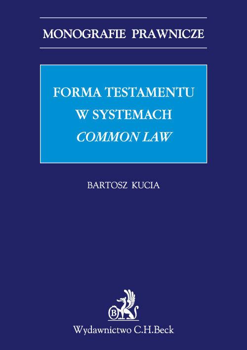 Forma testamentu w systemach common law