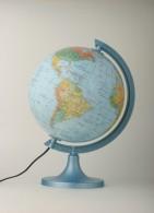 Globus 250 polityczno-fizyczny podświetlany