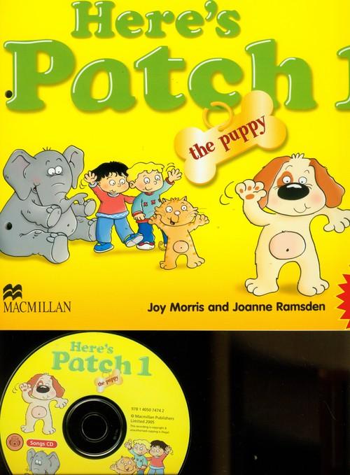 Język angielski. Here's Patch the Puppy 1. Podręcznik (+CD) - edukacja przedszkolna