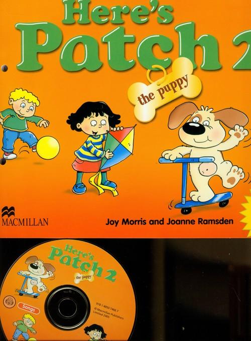 Język angielski. Here's Patch the Puppy 2 + CD, edukacja przedszkolna