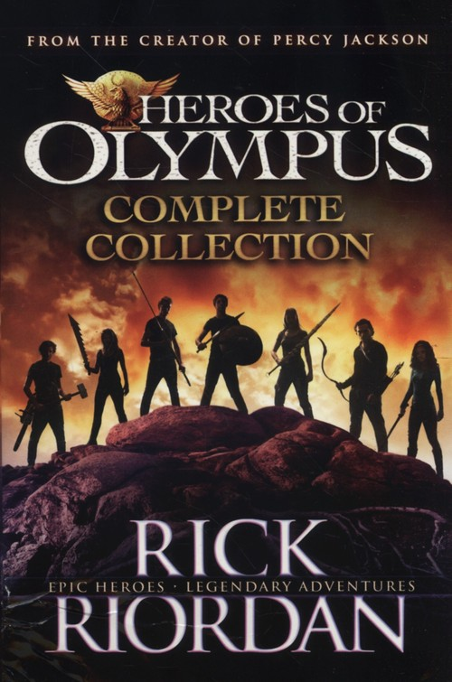 Heroes of Olympus Complette Collection