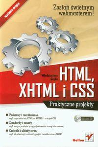 HTML, XHTML i CSS Praktyczne projekty z płytą CD