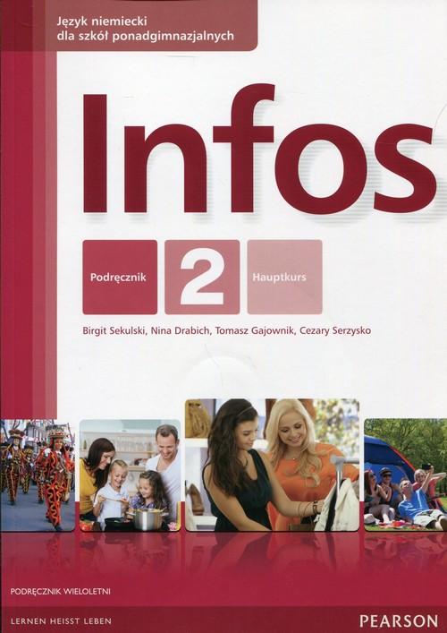 Język niemiecki. Infos 2. Klasa 1-3. Podręcznik - szkoła ponadgimnazjalna