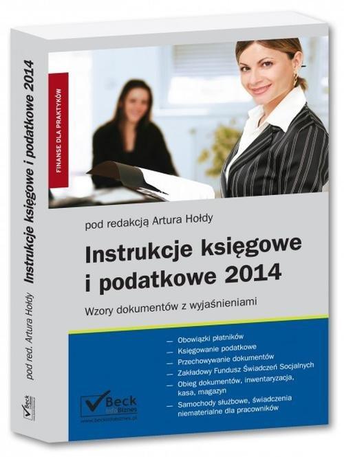 Instrukcje księgowe i podatkowe 2014
