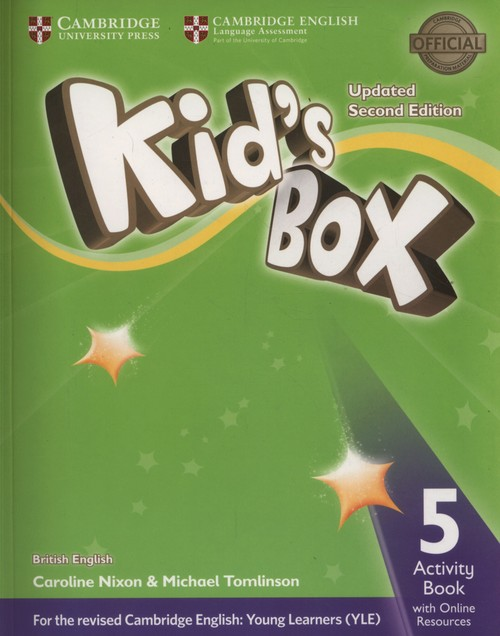 Kid's Box 5 Activity Book + Online