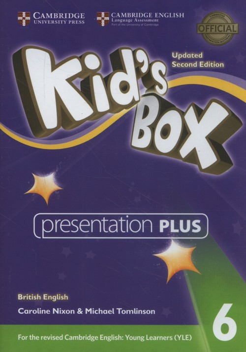 Kid's Box Level 6 Presentation Plus DVD-ROM British English - Nixon Caroline, Tomlinson Michael