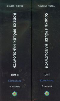 Kodeks spółek handlowych Komentarz tom 1-2