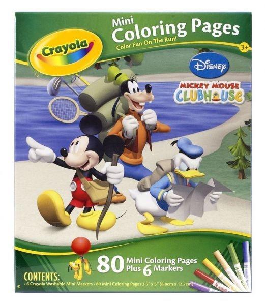 Kolorowanka mini pages Mickey