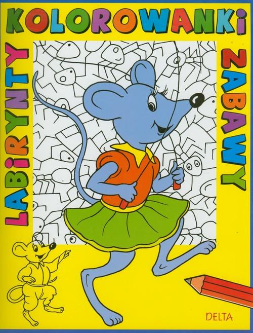 Kolorowanki, labirynty, zabawy mysz