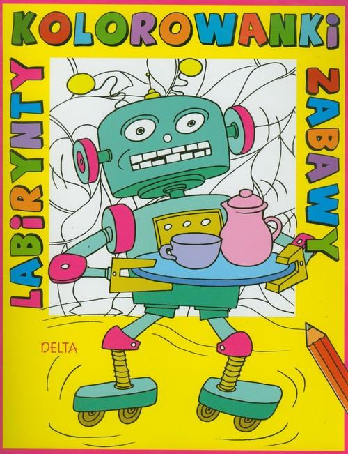 Kolorowanki, labirynty, zabawy robot