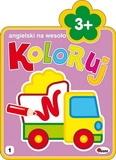 Koloruj angielski na wesoło 3+ - Piotr Kozera