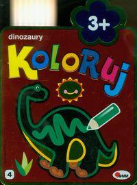 Koloruj Dinozaury 3+