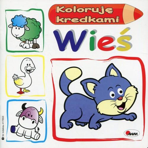 Koloruję kredkami Wieś - Kwiecińska Mirosława