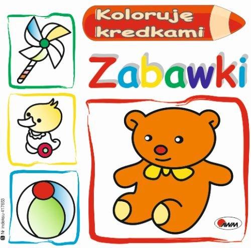 Koloruję kredkami Zabawki